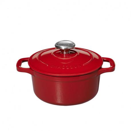 Μαντεμένια μίνι κατσαρόλα Chasseur κόκκινο3