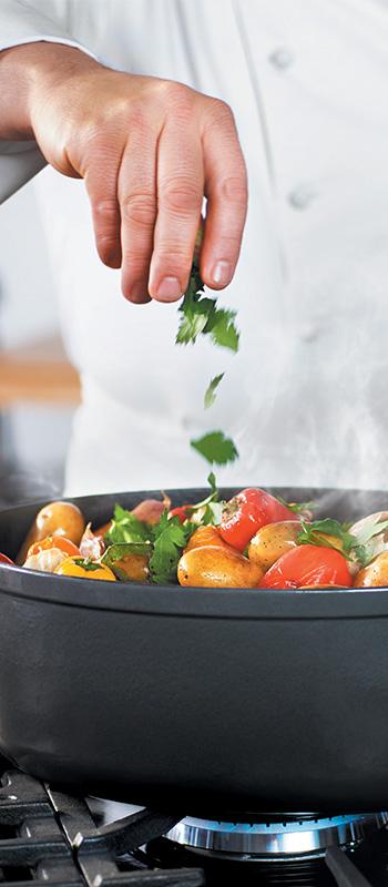 Μαντεμένια μαγειρικά σκεύη Chasseur - Πληροφορίες
