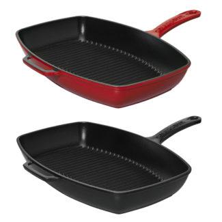 Μαντεμένιο τηγάνι γκριλ 28x24cm | Chasseur | COOKART