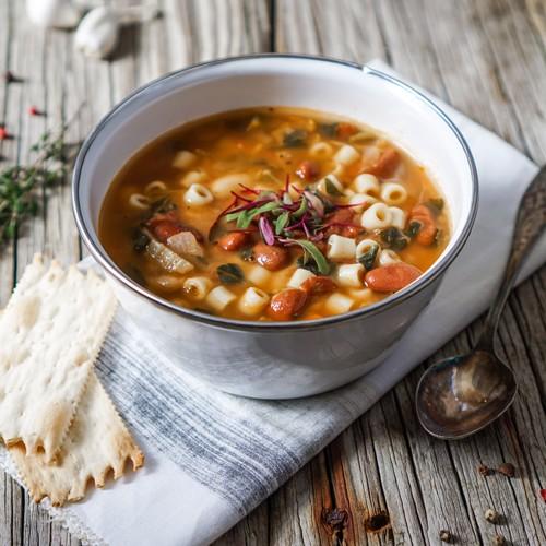 Συνταγή | Μινεστρόνε λαχανικών | Μαντεμένια σκεύη | COOKART