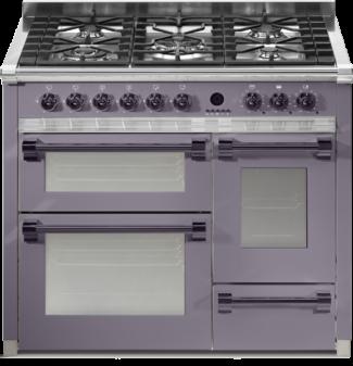 Κουζίνα με τριπλό φούρνο ASCOT 100/3 Steel cucine | COOKART