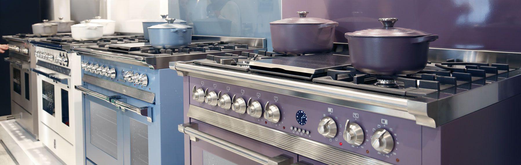 Κουζίνες Αερίου και Ηλεκτρικές Steel cucine | COOKART