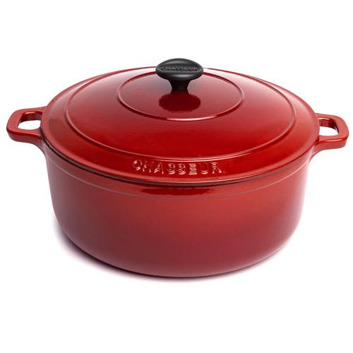 Μαντεμένια κατσαρόλα Chasseur red