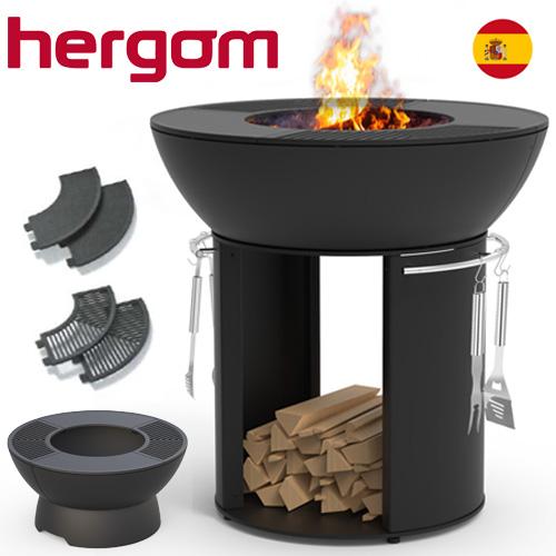 Μαντεμένιο barbeque - Τζάκι εξωτερικού χώρου Hergom Firepit