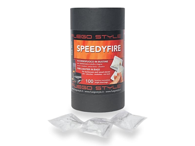 Προσανάμματα Speedyfire_100 για μπάρμπεκιου